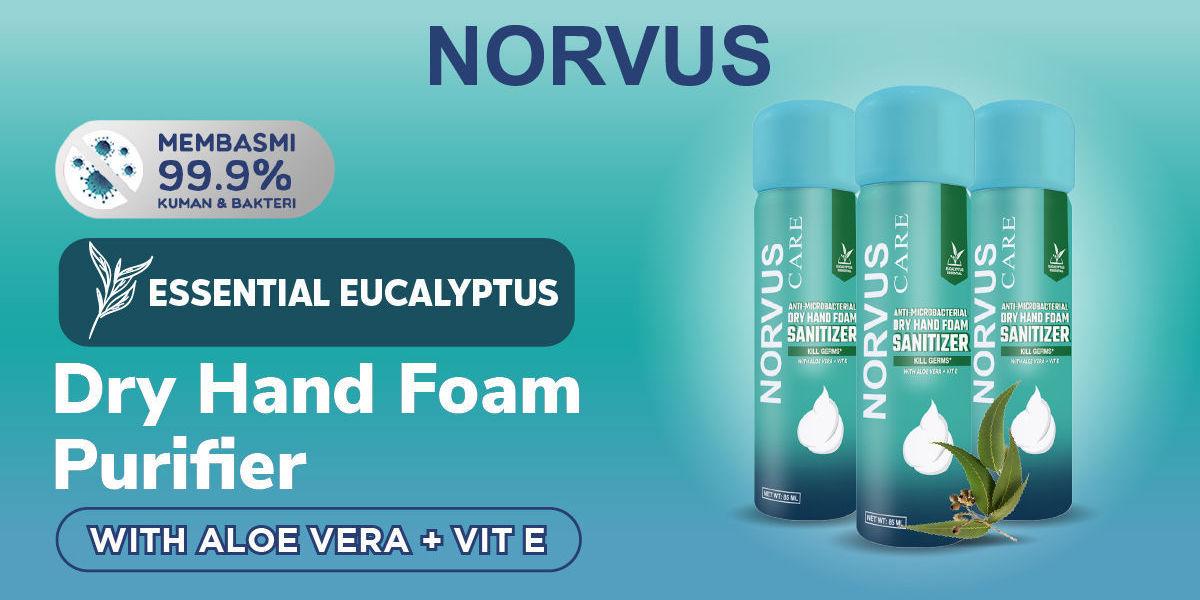 Dry Hand Foam Sanitizer